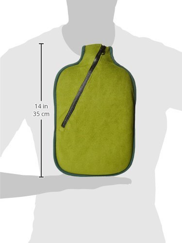 Wärmflasche Öko Klassik Comfort, Softshell, Reißverschluss Bambus Made in Germany