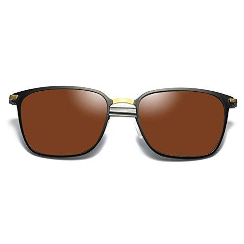 Frame para de miopía equiparse Metal Band con ZX Puede 400 Color de Sol Eyeglasses UV Controlador luz polarizada Degree Hombres 1 de Gafas 2 4Cc4RWn5