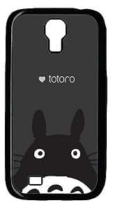 Totoro Custom Designer Samsung Galaxy S4 SIV I9500 Case Cover - Polycarbonate - Black