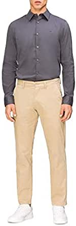 Calvin Klein Men's Cotton Stretch Casual Trouser