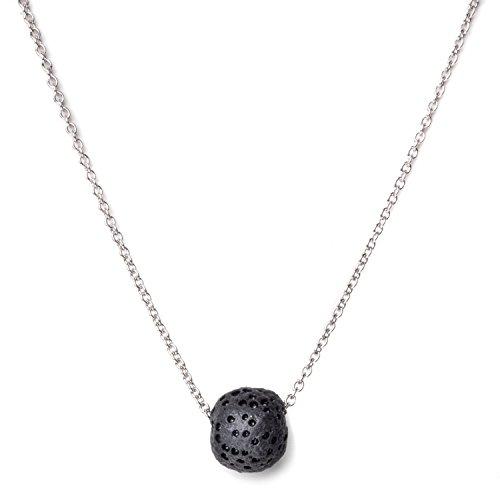 Calm Lava Stone Diffuser Necklace, 18