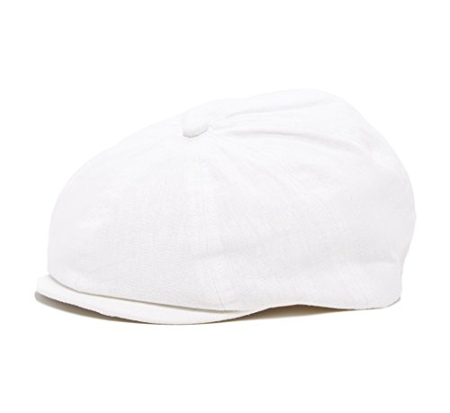 White Girls Love To Party (Born to Love White Newsboy Baby Cap,Baby Ivy Cap, Newborn Driver Cap XXS 6 to 12)