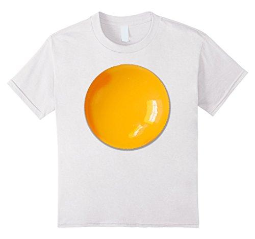 Kids Fried Egg Easy Halloween Costume T-shirt 12 White Easy Halloween Costume T-shirt