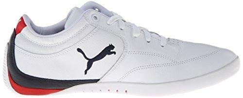 Puma Uomo Bmw Ms Chrono Lo Sneaker Bianco / Bmw Team Blu