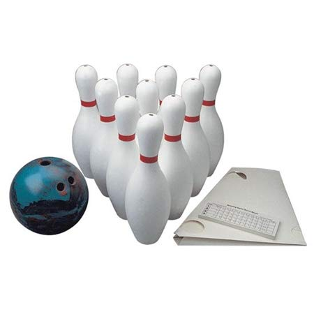 FlagHouse Weighted Bowling Set - Set Bowling Weighted