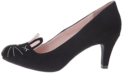 Pump T Bunny k Women's Slide Black u Face TqRTc7n