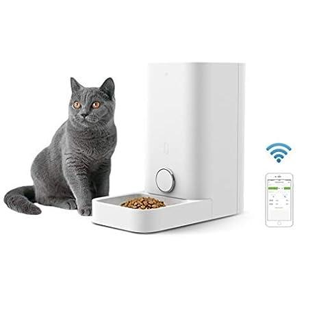 Alimentador Inteligente para Perros y Gatos - Doble Fresco - Nunca Tarjeta - Gran Capacidad -