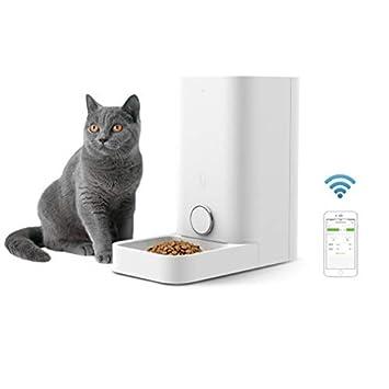 PETKIT Katze Hund intelligenter Feeder -doppelte Feuchtigkeit/Niemals Karte/Fernbedienung/leicht zu entfernen und zu waschen
