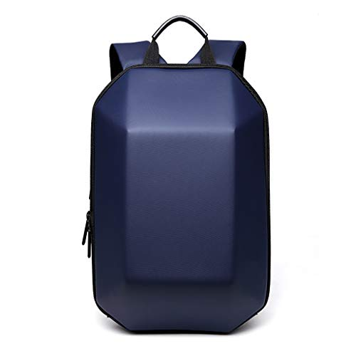 Backpack casual YVBINbeibao Shell dimensional Three color Backpack college Backpack YVBIN Black Backpack Hard zqXrYwXTx