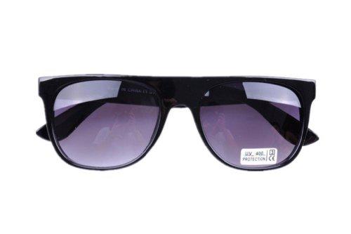 Wear Modern Super Flat Top Shades Retro Gold Mirror Sunglasses Justin Bieber Sunglasses (Bright - Bieber Glasses Justin With