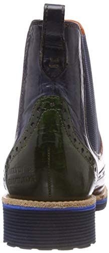 Boots 5 Crust Hamilton 1 Chelsea Melvin Amelie Bleu Femme amp; Wood Xgwntp