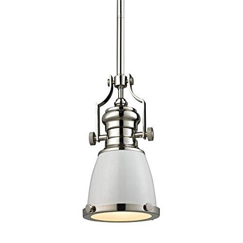 Elk Lighting 66514-1 Ceiling-Pendant-fixtures, White ()