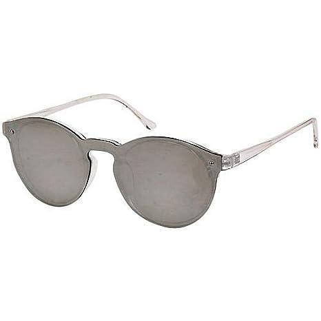 de803bd6205 Amazon.com  Robin Ruth OMARE Frameless Designer Sunglasses-Silver ...