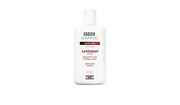 Amazon.com: ISDIN Lambdapil Anti Hair Loss Prevention Shampoo 200ml: Beauty