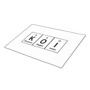 vioutlet Felpudo química elementos símbolos palabras