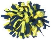 Lewis N Clark 8274-Navy/Sunshine-One Size Pomchies Pom Id