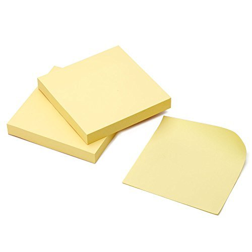 [10 Pack] Super Sticky Notes, 3 in X 3 in Convenience Stickers
