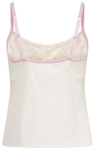 Lepel 94400 Femme D�bardeur/Top avec soutien-gorge Beige/Rose Taille 34DD