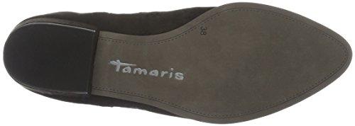 Tamaris 25303, Botas Chelsea para Mujer Negro (BLACK 001)