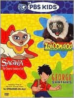 PBS Kids Pack (Zoboomafoo / Sagwa, The Chinese Siamese Cat / George Shrinks)