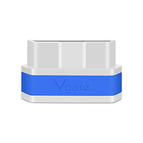 Vgate iCar 2 Mini ELM327 OBD II WiFi Car Diagnostic Scan Tool for iOS and Android with Switch Auto Sleep ( White & Blue ) by Vgate (Image #7)