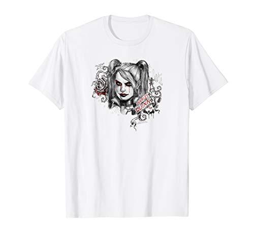 Batman: Arkham Knight Harley Quinn Sketchy Girl T Shirt (Batman Arkham Knight Harley Quinn Voice Actor)