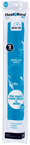 17-Inch by 2-Yard Iron-On Vinyl, Gloss, X2 ()