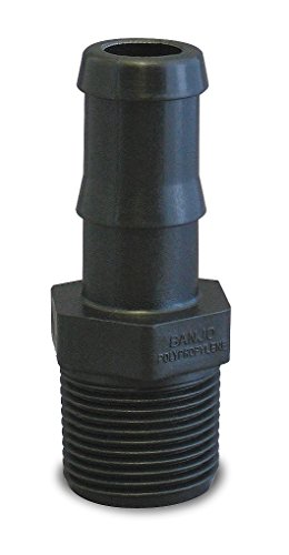 Banjo Hose Fittings (Banjo HB075 Polypropylene Hose Fitting, Adapter, 3/4