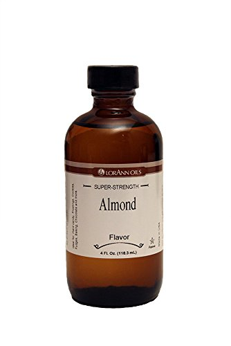 Lorann Oils Almond Oil Flavor Super Strength Flavor Oil - 4oz