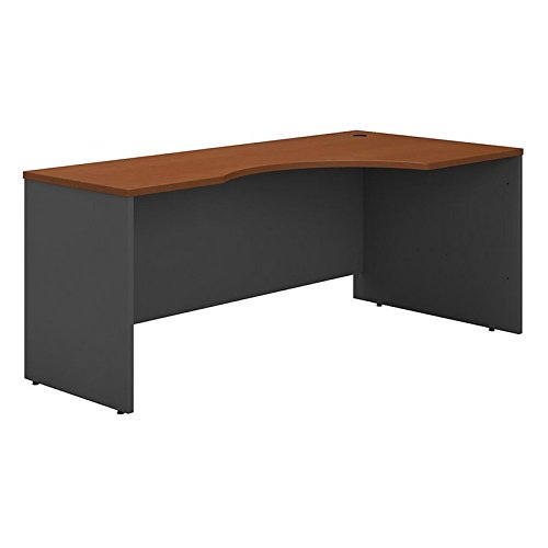 - Bush Business Furniture Series C 72W Right Handed Corner Desk in Auburn Maple
