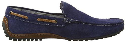Sioux Cabir - Mocasines Hombre Azul - Blau (marine/castagna)