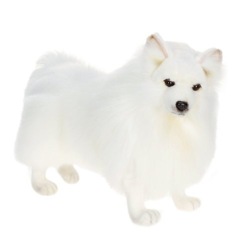 German Spitz Toy Reproduction By Hansa, 45.72cm Long by Hansa