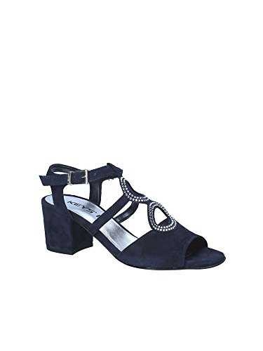 High 5713 Heeled Keys Sandals Blue Women TYq15wd