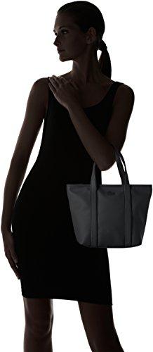 cm L W Sac x H 12x23x22 Black Femme Classic Noir Lacoste x bandouliere Women's xPZYqZw6