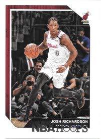 Josh Richardson 2018-19 NBA Hoops Miami Heat Card #197