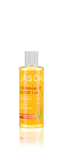 JASON Vitamin E 5,000 IU All-Over Body Nourishment Oil, 4 Ounce