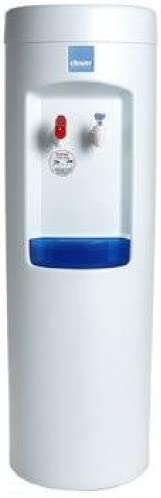Clover D7A Hot and Cold Bottleless Water Dispenser with install kit, White