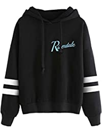 OLIPHEE Girls Riverdale Southside Serpents Pullover Jumper Long Sleeves with Two Stripes Printed Casual Sweatshirt