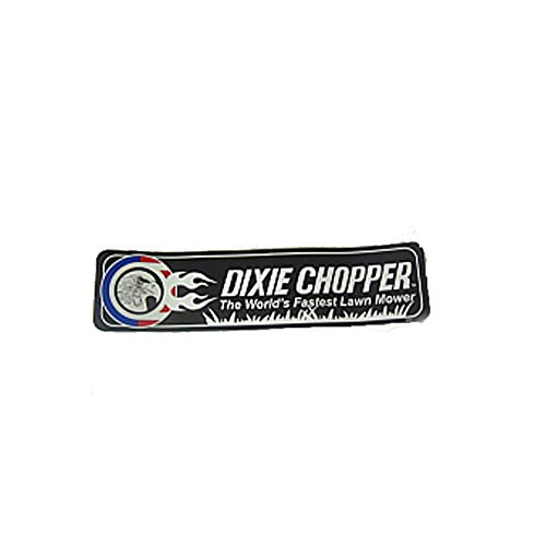 Dixie Chopper Fender Decal for XC3356, XC3366 & More Lawn Mowers / 800203 ()