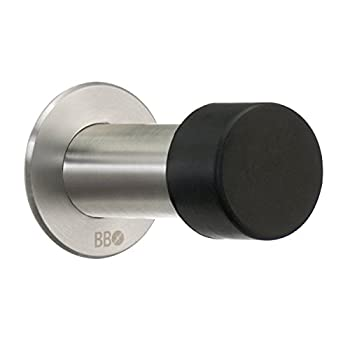 Smedbo Home Decorative Accessories Doorstop Brushed Stainless Steel