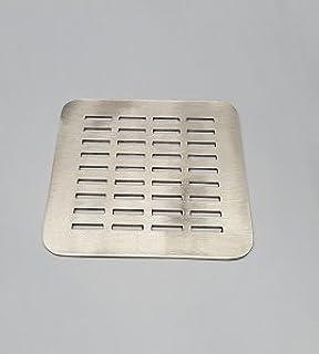 Rejilla cuadrada de 12,5 X 12,5 cm en acero inoxidable para platos ...