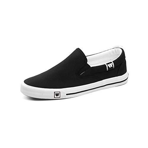 Etudiant Eu39 Size Homme Toile uk6 Chaussures cn39 De Ff couleur Automne Sport Sneakers Baskets Noir 17xqAPtBw