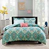 Mainstays Monique Paisley Coordinated Bedding Set Bed in a Bag (Full)