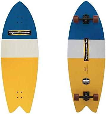 Hamboards (ハムボード)Pescadito モデル コンプリート スケートボード [Strip] 3'7
