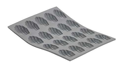 De Buyer Elastomoule Mini - ELASTOMOULE Silicone Mold, 20 Mini-Madeleines, 8.25