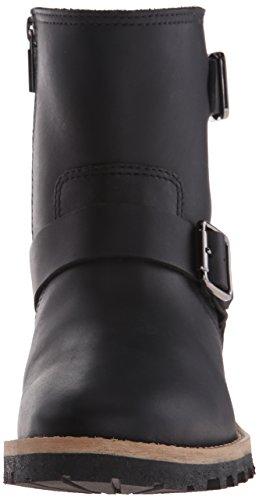 Leather Veg Boot Willow Black Blondo Women's 7xXzqnwX6