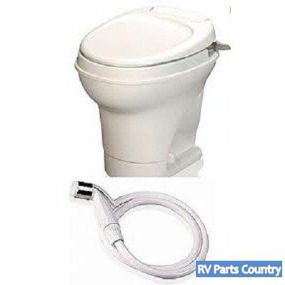 Amazon.com: RV Aqua Magic Hand Flush Toilet Motorhome Water Saving ...
