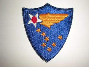 US Army WWII Alaskan AIR Command Patch (Reproduction) by HighQ Store - Wwii Army Patches