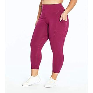 Marika Plus Size Jenni High Rise Pocket Legging, Purple Potion, 1X