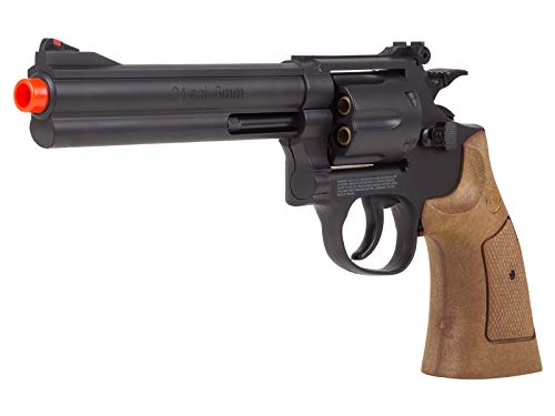 TSD Sports UA934BW 6 Inch Spring Powered Airsoft Revolver -